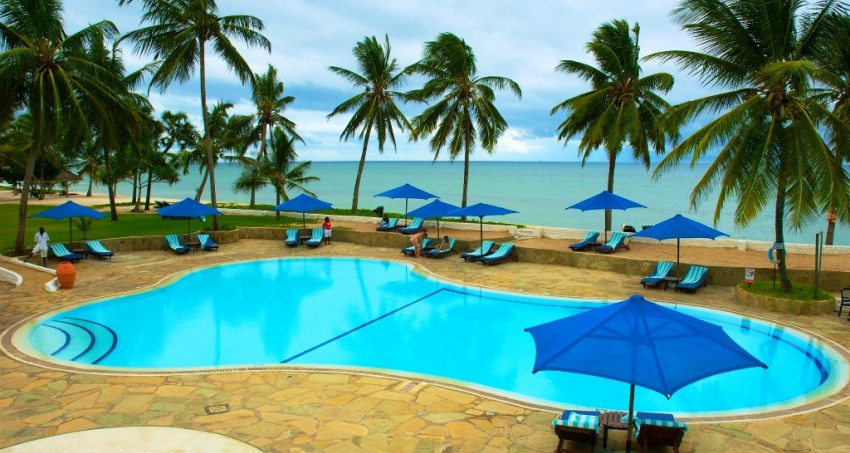 4 Days Jacaranda Indian Ocean Beach Resort Diani Flying Package